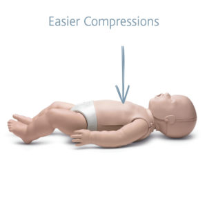 Prestan Infant Manikin with Softer Foam for easier compressions